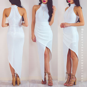 How It's Supposed To Be Dress - White