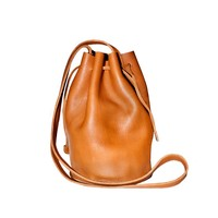 Cynthia Rowley -  Leather Drawstring Tote | Shoes & Accessories
