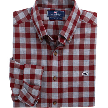 Vineyard Vines - Buffalo Check Slim Whale Shirt