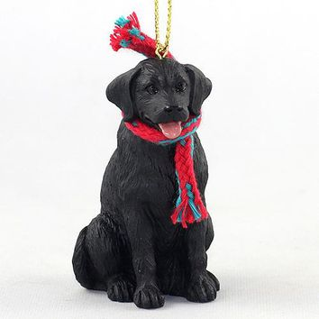 LABRADOR RETRIEVER BLACK ORIGINAL ORNAMENT, LARGE