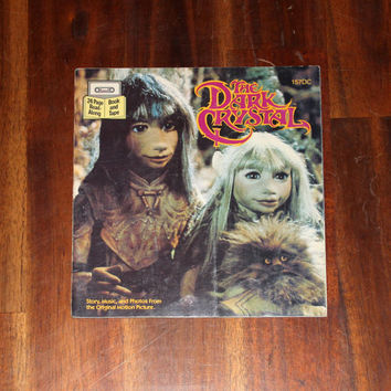 The Dark Crystal - Vintage Children's Book 1982, Jim Henson, Read Along, Kids, Paperback