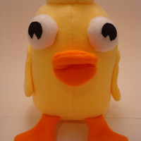 DUCKY MOMO - Candace's Favorite Toy from Disney's Phineas & Ferb - Plush Softie Toy - Custom Made to Order!