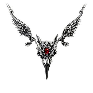 Masque Of The Black Rose Necklace by Alchemy Gothic, England