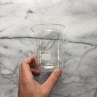Glass Measuring Cup - Medium 400 mL : THE FOUNDRY HOME GOODS