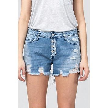 Lancaster Denim Shorts