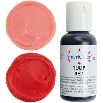 Tulip Red Gel Paste Food Coloring