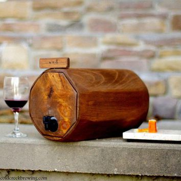 Wine Barrel 3 Qty.   Wedding Reception   Gift Idea   Rustic Wedding Decor   Wine Decanter Qty. 3