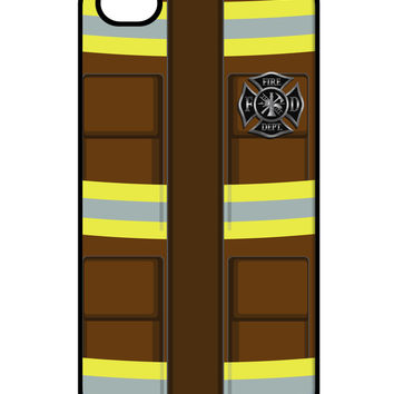 Firefighter Brown AOP iPhone 4 / 4S Case All Over Print