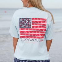 Jadelynn Brooke Tee- Oh Say Can You Sea- FINAL SALE