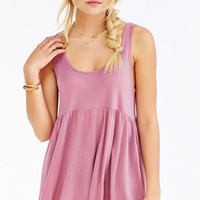 Truly Madly Deeply Babydoll Tank Top - Urban Outfitters