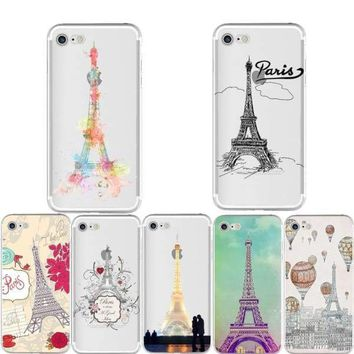 Fashion Paris Eiffel Tower iPhone Case – For iPhone 6 6S /7 /8 plus /5 5S SE /X