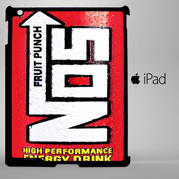 Funny NOS Energy Drink A0263 iPad 2, iPad 3, iPad 4, iPad Mini and iPad Air Cases - iPad