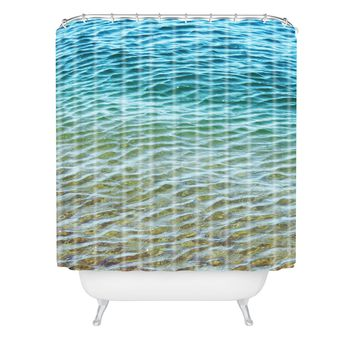 Shannon Clark Ombre Sea Shower Curtain