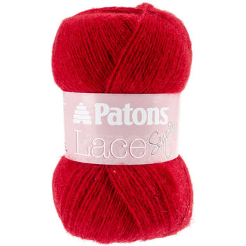Lace Sequin Yarn-Ruby