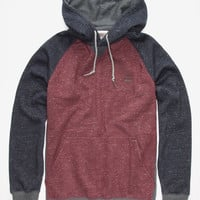 Billabong Balance Mens Pullover Hoodie Burgundy  In Sizes