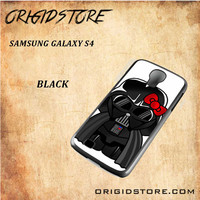 Anakin Skywalker Darth Vader Hello Kitty Star Wars Black White Snap On 3D For Samsung Galaxy S4 Case
