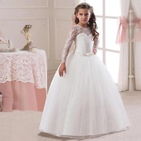 Sweetheart Lace Flower Girl Dress in 3 Colors