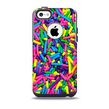 The Neon Sprinkles Skin for the iPhone 5c OtterBox Commuter Case