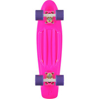 Penny Skateboard Pink, Purple, & White 22 Cruiser Complete  at Zumiez : PDP