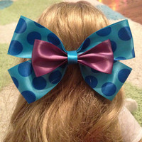 Sully Inspired Disney Bow