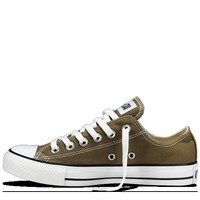 Olive Chuck Taylor All Star Shoes : Converse Low Tops | Converse.com