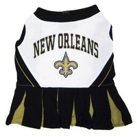 New Orleans Saints Pet Cheerleader Dress