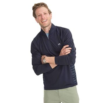 Island Performance Quarter Zip Pullover by Southern Tide