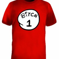 Bitch 1 2 3 4 5 6 Adult Humor Funny T-Shirt