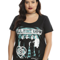 All Time Low Big Heart Girls T-Shirt Plus Size