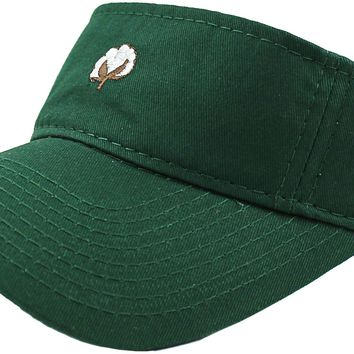 The Boll Visor in Hunter Green by Cotton Brothers - FINAL SALE