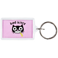 David & Goliath - Bad Kitty Keychain