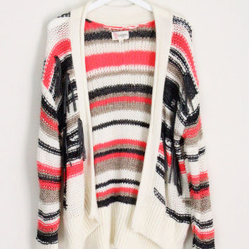 Striped Neon Cardigan