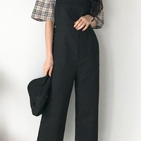 Land Cotton Overall Pants