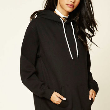 Heathered Fleece Hoodie