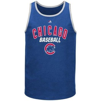 Chicago Cubs Majestic All Of Destiny Tank Top