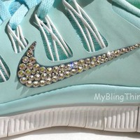 I Will Custom Bedazzle YOUR Nike Shoes with REAL Swarovski Elements Crystals - Nike Fr