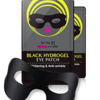 SOMOON Black Hydrogel Eye & Smile Patch
