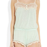 Eberjey | Esther jersey playsuit | NET-A-PORTER.COM