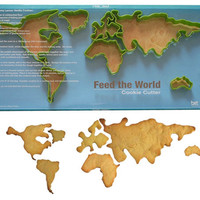 FEED THE WORLD COOKIE CUTTERS