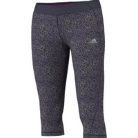 adidas Women's Shatter Print Compression Capri - Dick's Sporting Goods