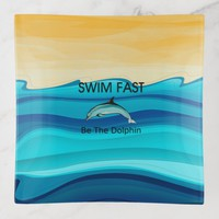 TOP Swim Dolphin Fast Trinket Trays