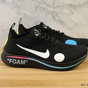 [Free Shipping ]Nike Zm Fly Mercurial Fk/ow  x Off-White Running  Sneaker