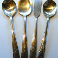 Vintage Rogers Silverplate Serving Set - Perfect for Breakfast or Tea Parties - Pattern Inheritance