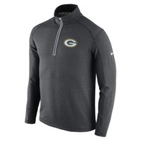 Nike Game Day Half-Zip Knit (NFL Packers) Men's Top