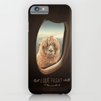 QUÈ PASA? iPhone & iPod Case by Monika Strigel