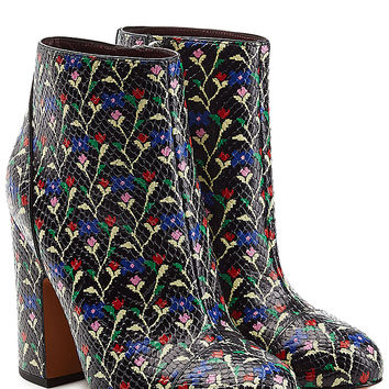 Marc Jacobs - Printed Leather Ankle Boots