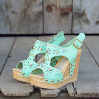Dewmist Wedge Sandals