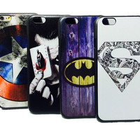 Marvel Hero Case For iPhone 6