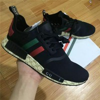 2017 NMD runner R1 PK Primeknit men women sports shoes Sneaker green red white nmd ultra boost Running Shoes Training Shoes size 36-45