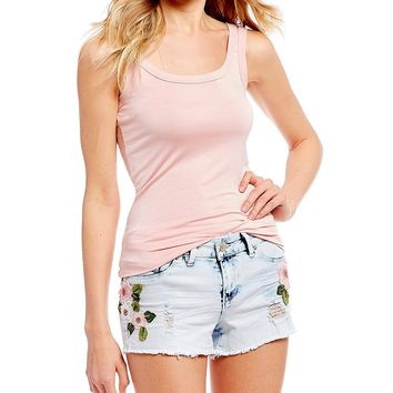 Soprano Basic Tank Top | Dillards